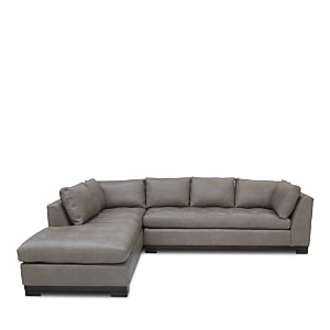 Bloomingdale's Artisan Collection Carter 2-Piece Leather Sectional - 100% Exclusive